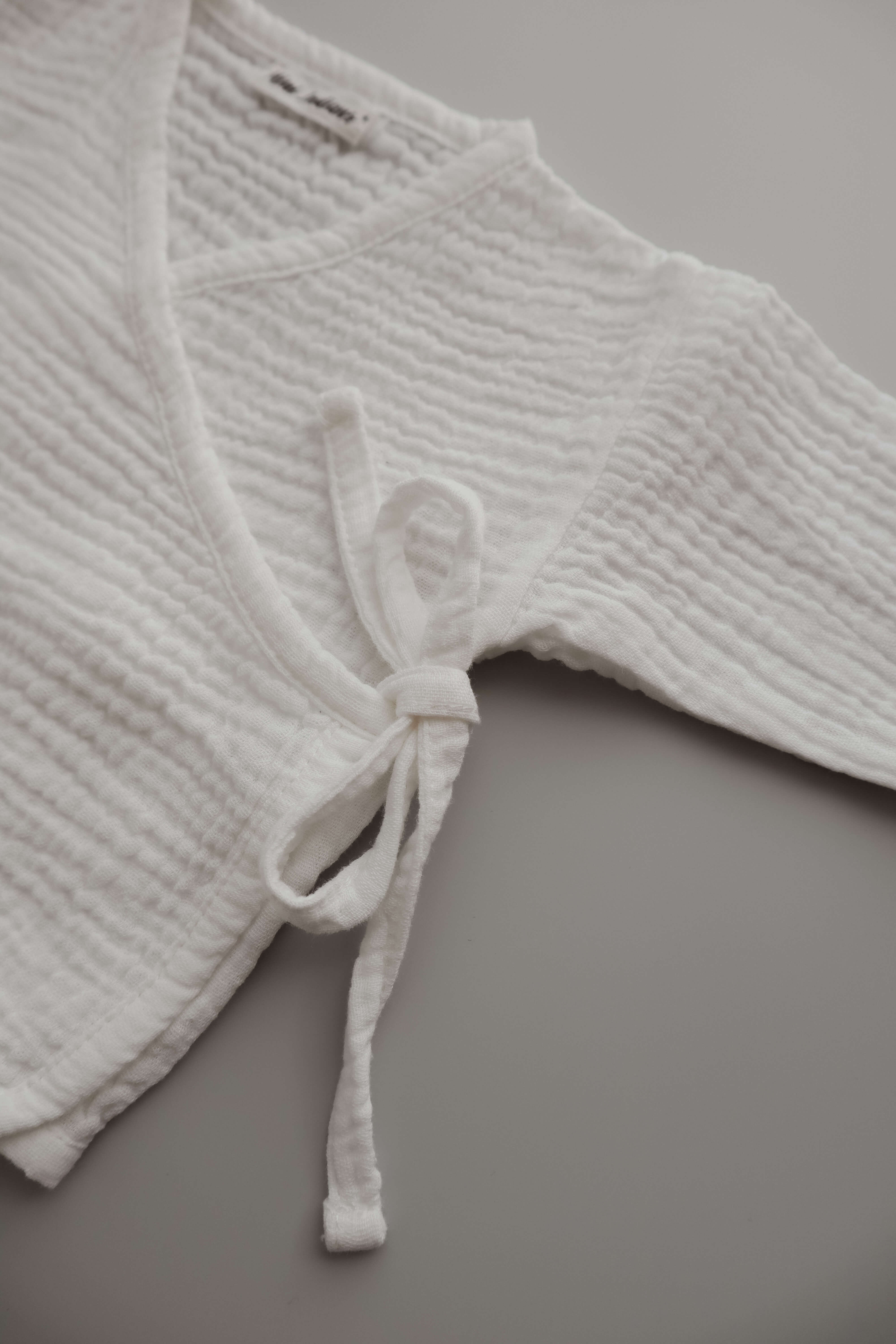 MUSSELIN TOP WHITE