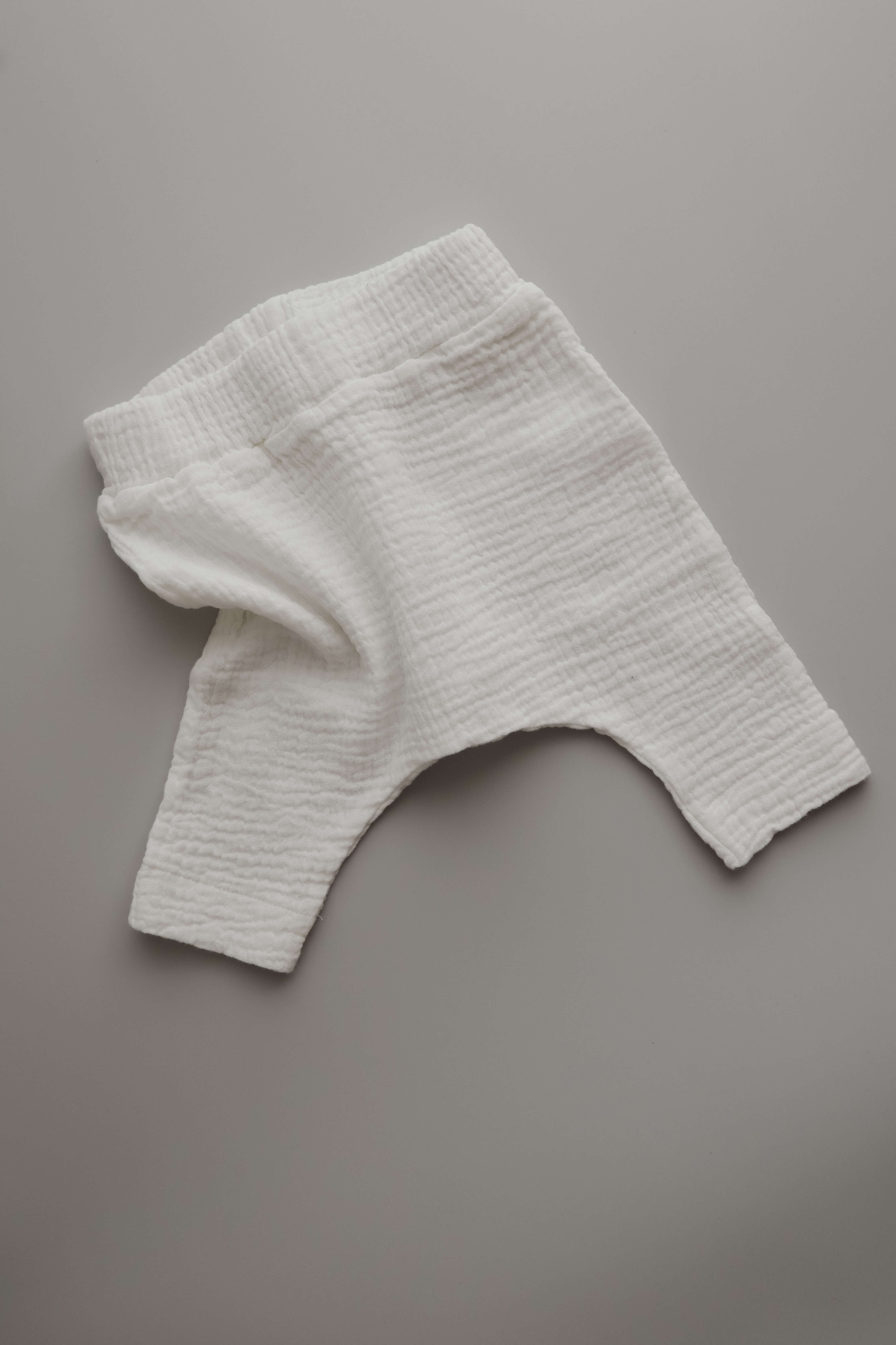 MUSSELIN PANTS WHITE